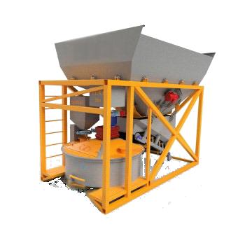 Энергобетон - Мобильный бетонный завод