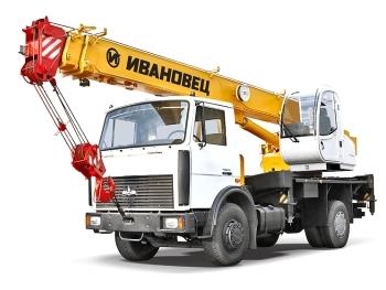Кран МАЗ 14 тонн